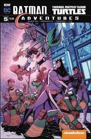 Batman/Teenage Mutant Ninja Turtles Adventures 5-A