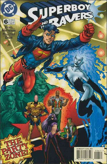 Superboy & The Ravers 6-A by DC