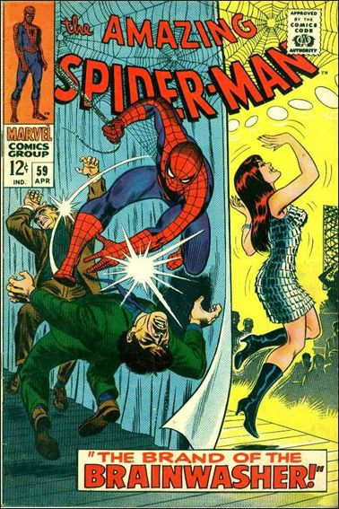 Amazing Spider-Man (1963) 59-A by Marvel