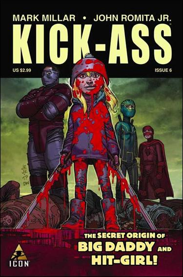 Kick-Ass (2008) 6-A by Icon