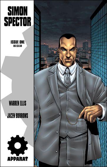 Warren Ellis' Simon Spector 1-A by Avatar Press