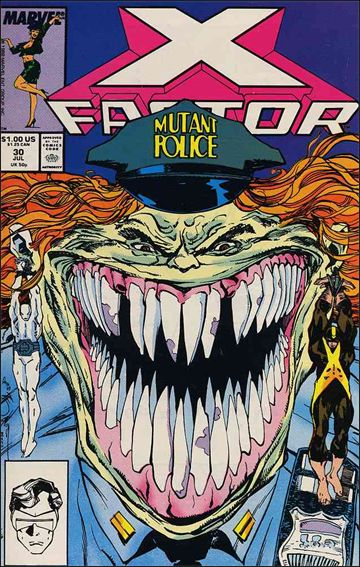 X-Factor (1986) 30-A by Marvel