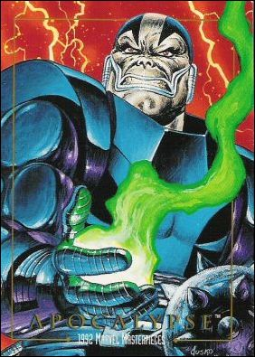 1992 Marvel Masterpieces (Base Set) 9-A by SkyBox