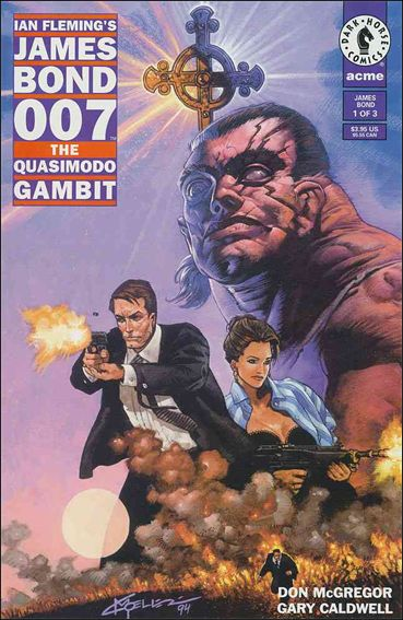 James Bond 007: The Quasimodo Gambit 1-A by Dark Horse