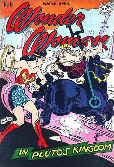 Wonder Woman (1942) 16-A by DC