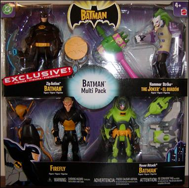 Batman (Toys R Us 4-Packs) Batman Multi-Pack 2 by Mattel
