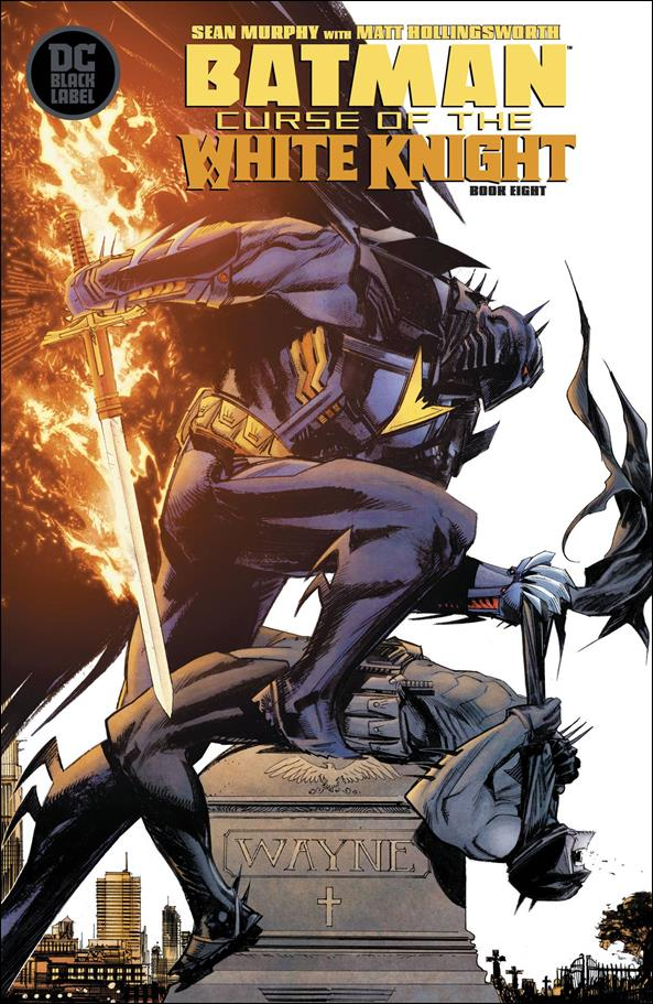 Batman: Curse of the White Knight 8-A by DC Black Label
