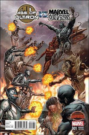 Age of Ultron vs Marvel Zombies 1-D