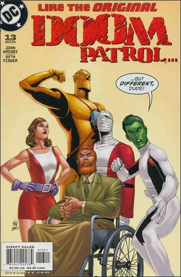 Doom Patrol (2001) 13-A by DC