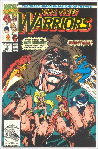 New Warriors (1990) 3-B by Marvel