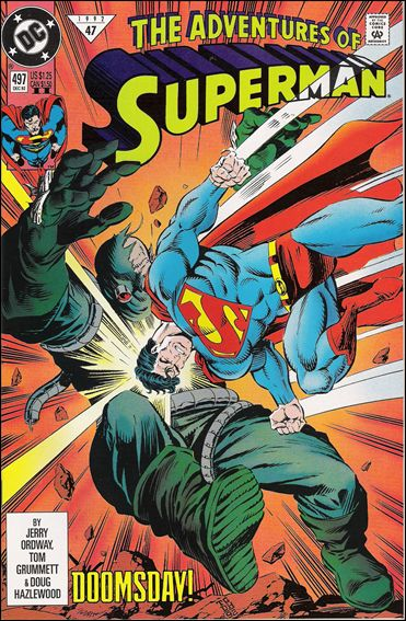 Adventures of Superman (1987) 497-B by DC