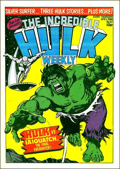Hulk Comic (UK) 57-A by Marvel UK