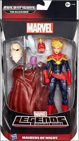 Marvel Legends Infinite: Avengers (Allfather Series)  Maidens of Might (Captain Marvel)