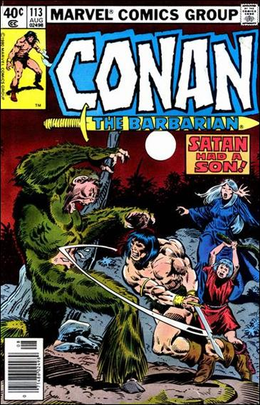 Conan the Barbarian (1970) 113-A by Marvel