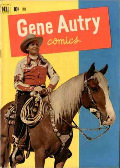 Gene Autry Comics (1946) 59-A by Dell