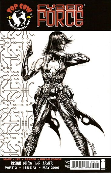 Cyberforce (2006) 2-C by Top Cow