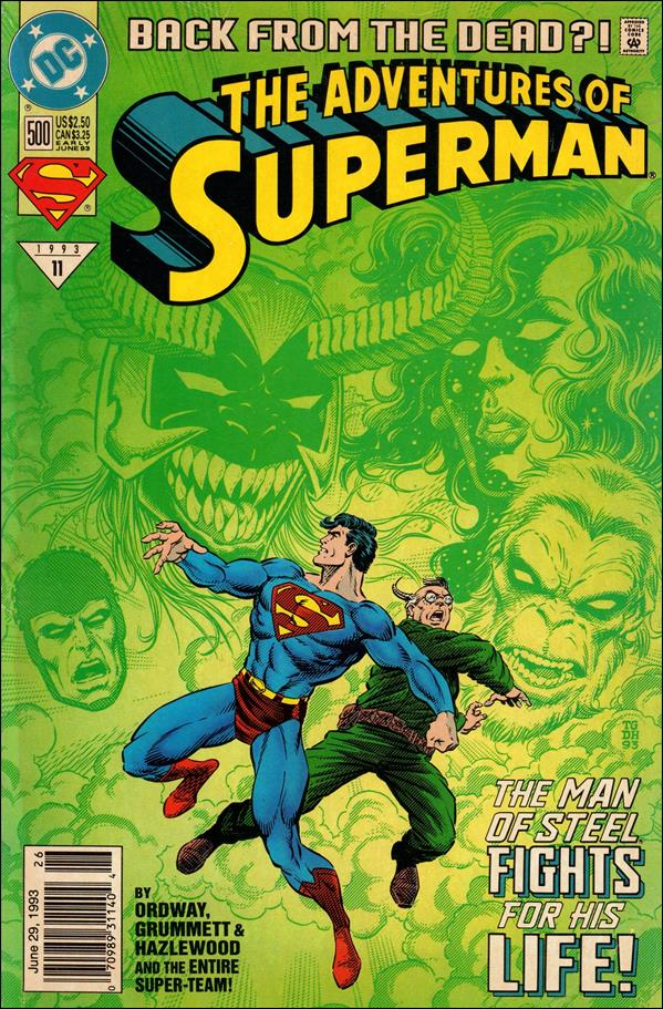 Adventures of Superman (1987) 500-D by DC