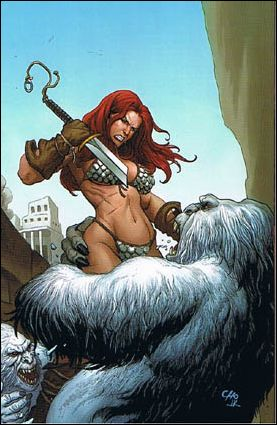 Savage Red Sonja: Queen of the Frozen Wastes 3-E by Dynamite Entertainment