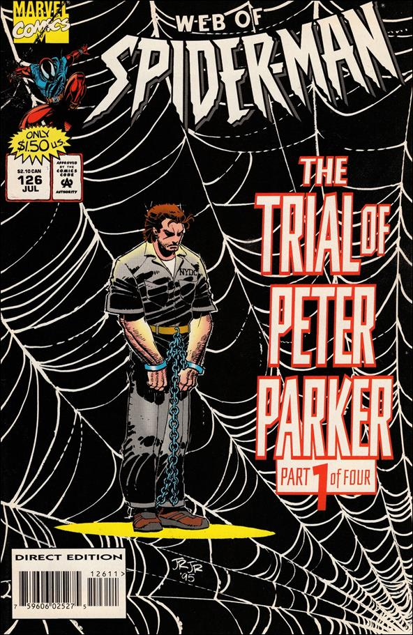 Web of Spider-Man (1985) 126-A by Marvel