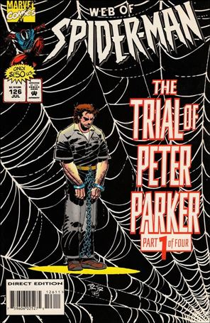 Web of Spider-Man (1985) 126-A