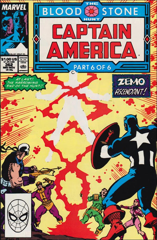 Captain America (1968) 362-A by Marvel