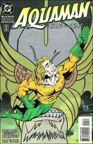 Aquaman: Time and Tide 4-A by DC