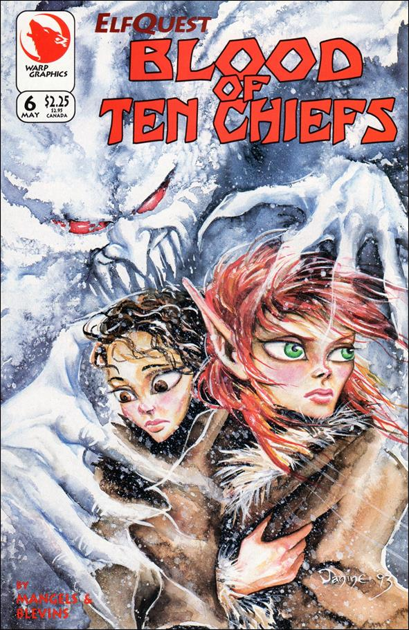 Elfquest: Blood of Ten Chiefs 6-A by Warp Graphics
