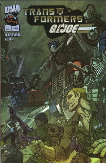 Transformers/G.I. Joe 1-C by Dreamwave