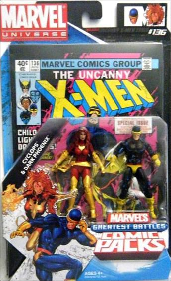 Marvel Universe: Marvel's Greatest Battles (Comic-Packs) Cyclops and Dark Phoenix by Hasbro