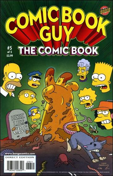 Bongo Comics Presents Comic Book Guy: The Comic Book 5-A by Bongo