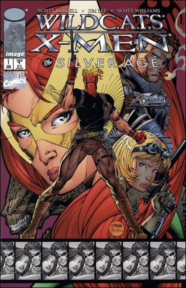 WildC.A.T.s/X-Men: The Silver Age 1-A by Image