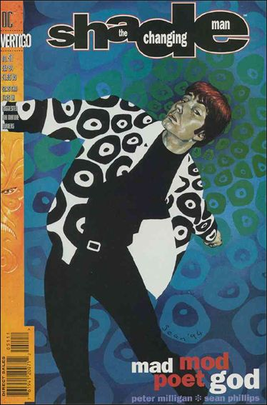 Shade, the Changing Man (1990) 51-A by Vertigo