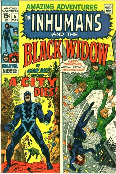 Amazing Adventures (1970) 5-A by Marvel