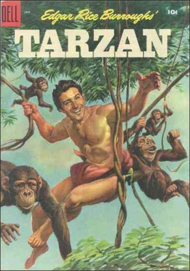 Tarzan (1948) 70-A by Dell