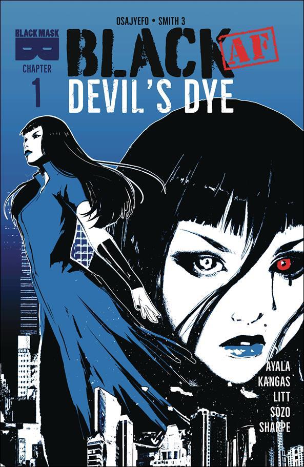 Black [AF]: Devil's Dye 1-A by Black Mask Studios