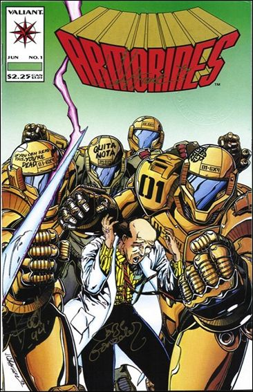 Armorines (1993) 1-B by Valiant