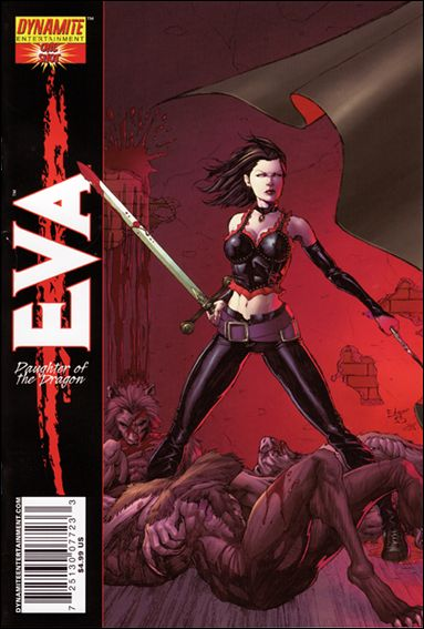 Eva: Daughter of the Dragon One-Shot 1-B by Dynamite Entertainment
