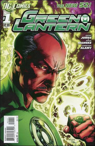 Green Lantern (2011) 1-A by DC