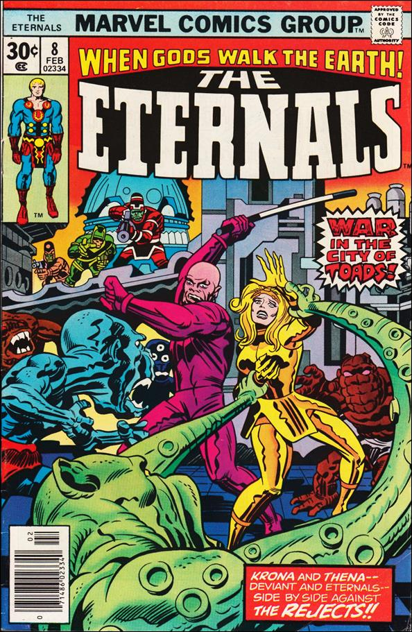 Eternals (1976) 8-A by Marvel