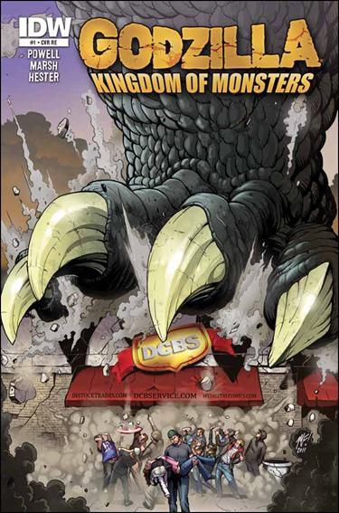 Godzilla: Kingdom of Monsters 1-NC by IDW