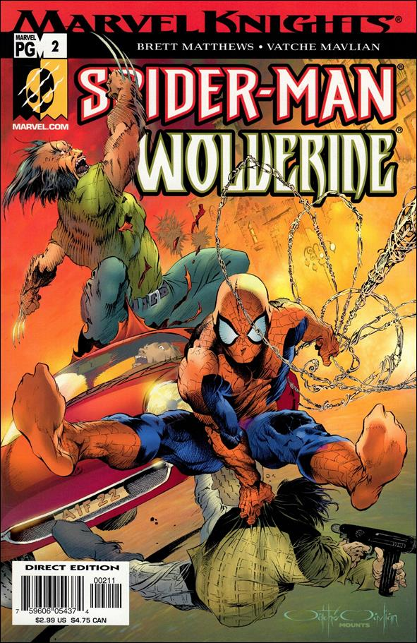 Spider-Man & Wolverine 2-A by Marvel