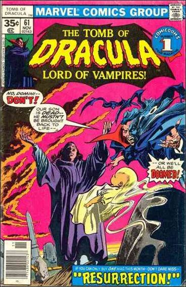 Tomb of Dracula (1972) 61-A by Marvel