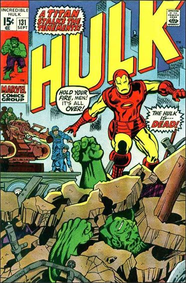 Incredible Hulk (1968) 131-A by Marvel