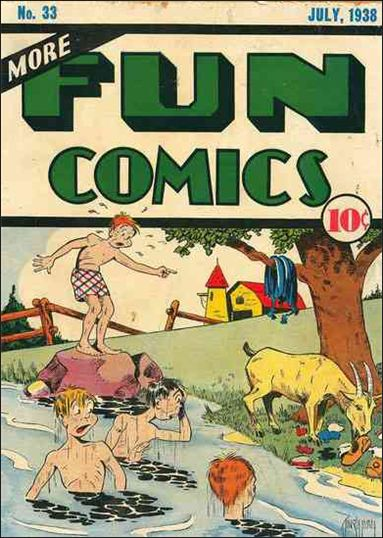 More Fun Comics 33-A by DC