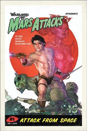 Warlord of Mars Attacks 1-D