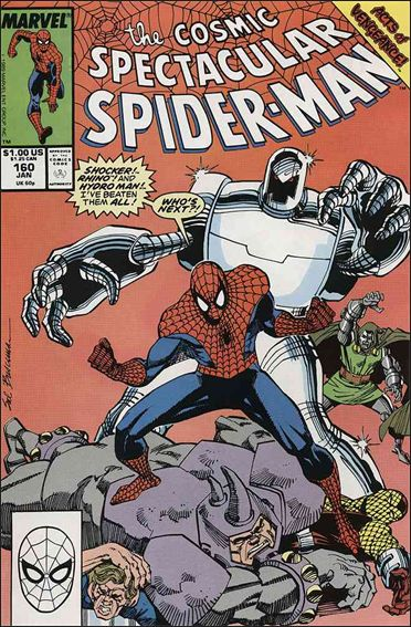 Spectacular Spider-Man (1976) 160-A by Marvel