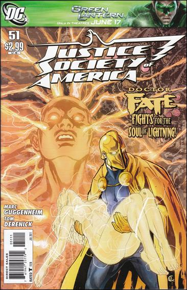 Justice Society of America (2007) 51-A by DC