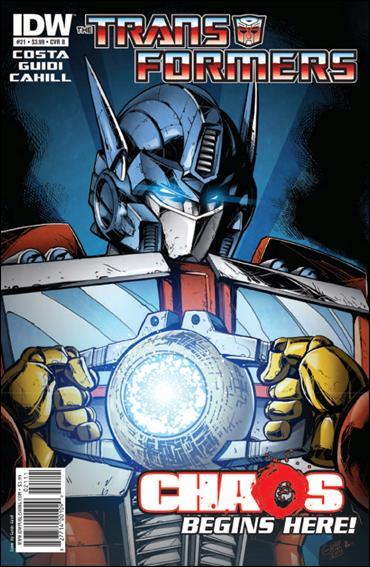 Transformers (2009) 21-B by IDW