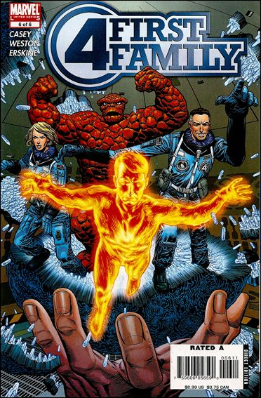 Fantastic Four: First Family (2006) 6-A by Marvel