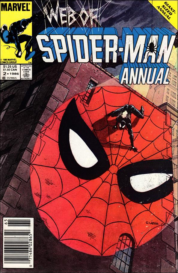 Web of Spider-Man Annual 2-A by Marvel
